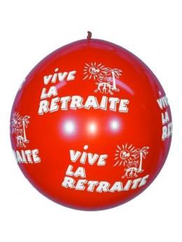 Ballon géant retraite