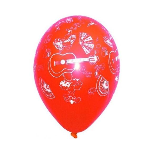 8 Ballons Fiesta latine