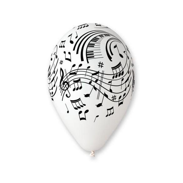 10 Ballons musique 30cm