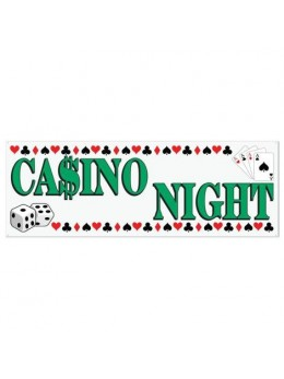 Bannière Casino night