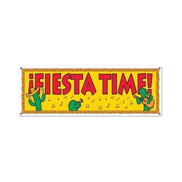 Bannière Fiesta time