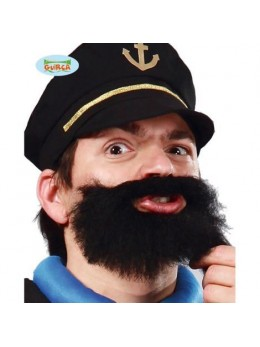 Barbe capitaine noire