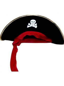 Bicorne de pirate