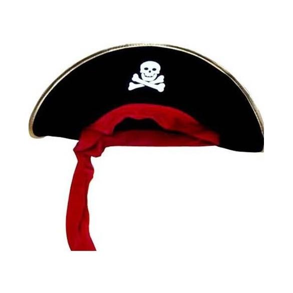 Bicorne de pirate
