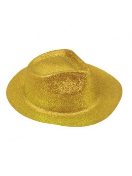 Borsalino paillettes or