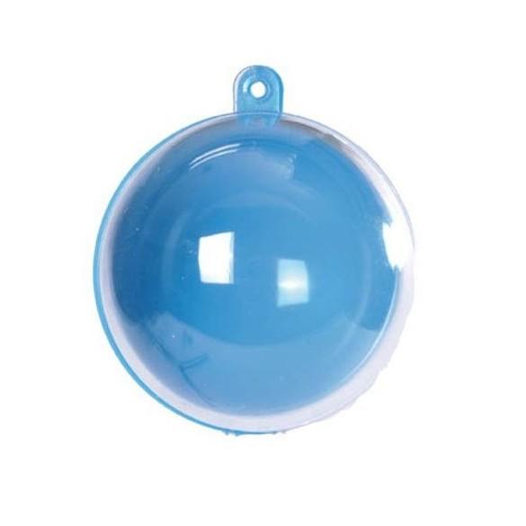 20 Boules PVC couleur turquoise 5cm