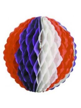 Boule tricolore 25cm