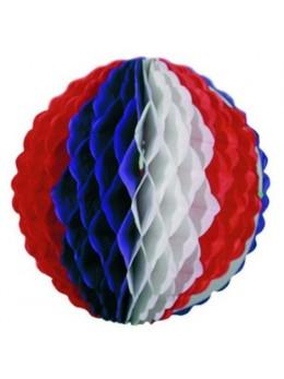 Boule tricolore géante 50cm