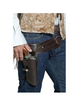 Ceinture holster authentique