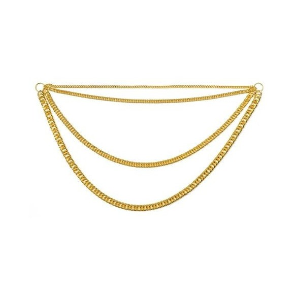 Collier chaine or disco
