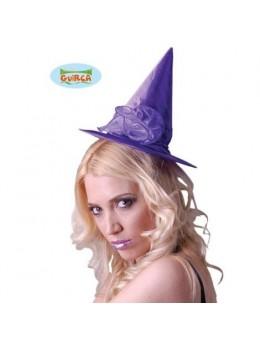 Chapeau sorcière manga violet