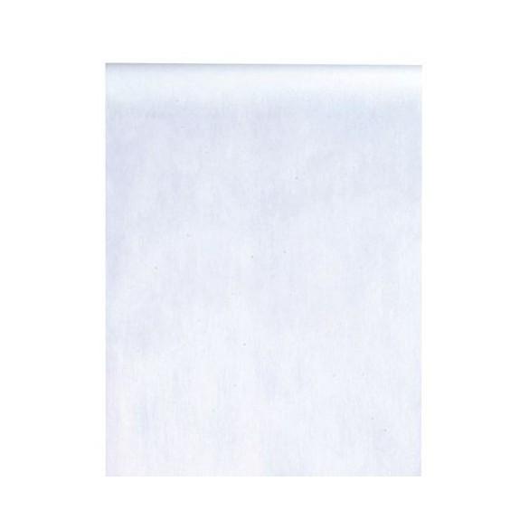 Chemin de table intissé 10m blanc