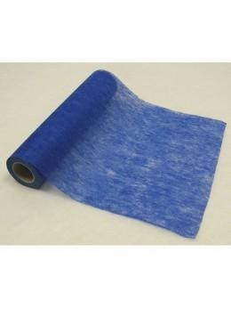 Chemin de table intissé 10m bleu roi