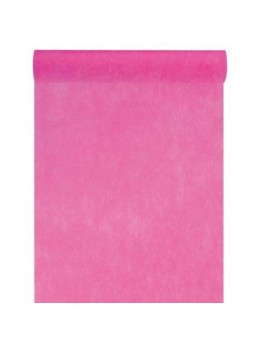 Chemin de table intissé 10m fuchsia