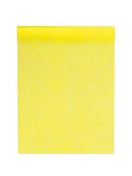 Chemin de table intissé 10m jaune
