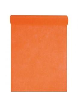 Chemin de table intissé 10m orange
