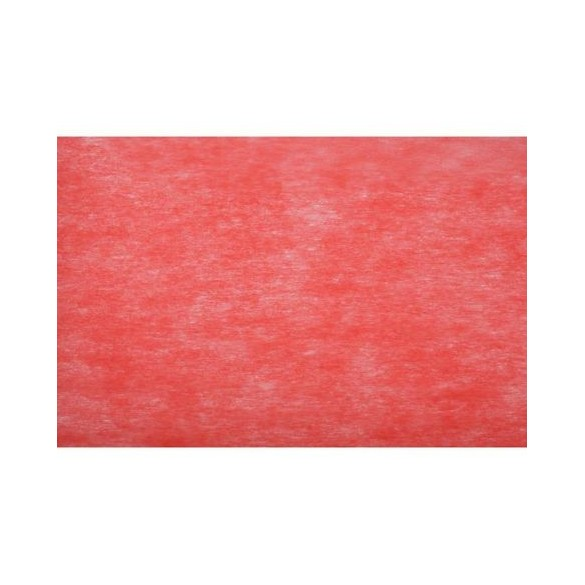 Chemin de table intissé 10m rouge