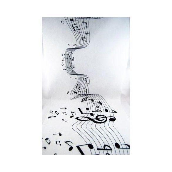 Chemin de table portées de musique