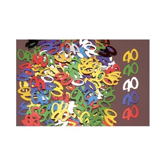 Confetti 40 ans