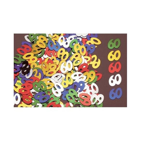 Confetti 60 ans