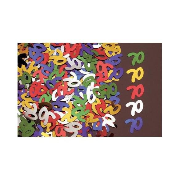 Confetti 70 ans