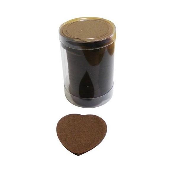 Confetti de scène coeurs chocolat