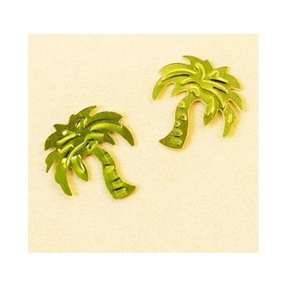 Confetti palmier vert anis