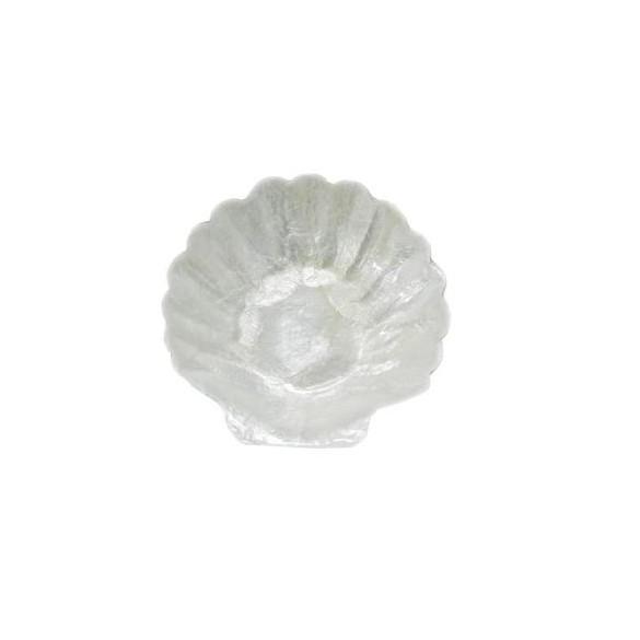 Coupelle coquillage nacré blanc