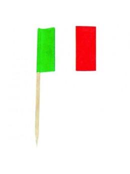 144 mini drapeaux Italie