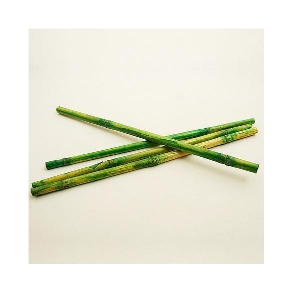 Déco 12 petits bambous 25cm