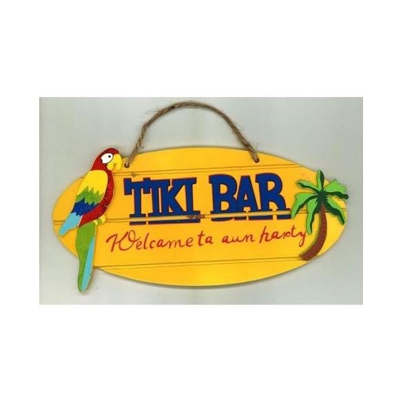 Déco bois TIKI BAR