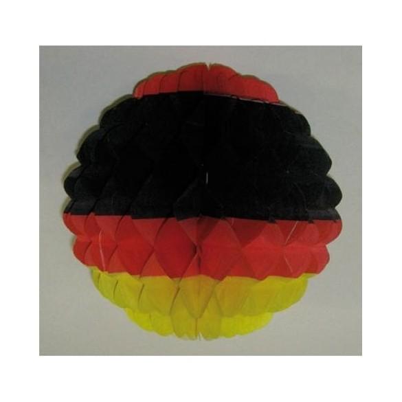 Déco boule papier Allemagne 25cm