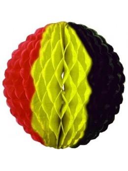 Déco boule papier Belgique 25cm
