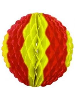 Déco boule papier Espagne 25cm