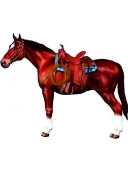 Déco carton cheval 95cm