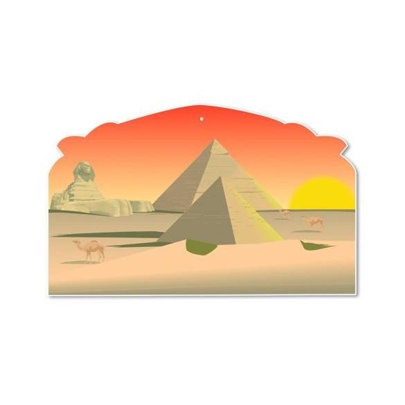 Déco carton Egypte