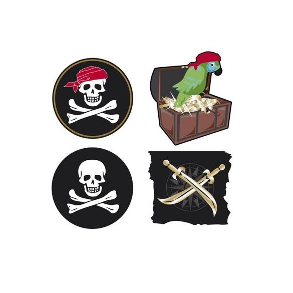 Déco cutout pirate