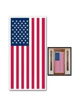 Déco de porte USA