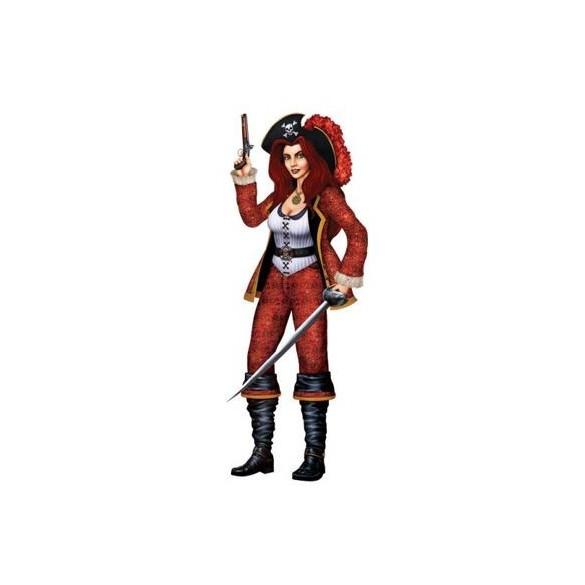 Déco femme pirate
