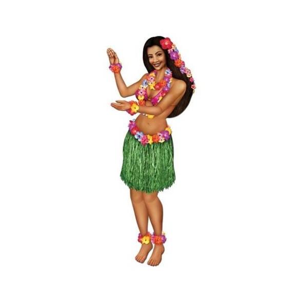 Déco hawaienne articulée 97cm