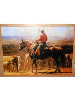 Déco peinture cowboy