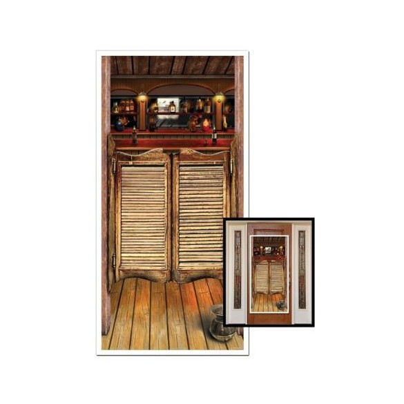 Déco saloon door
