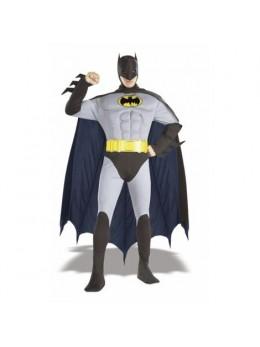 Déguisement Batman muscles gris XXL