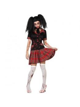 Déguisement écolière zombie