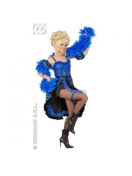 Déguisement french cancan bleu