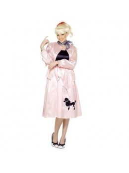 Déguisement Grease rose
