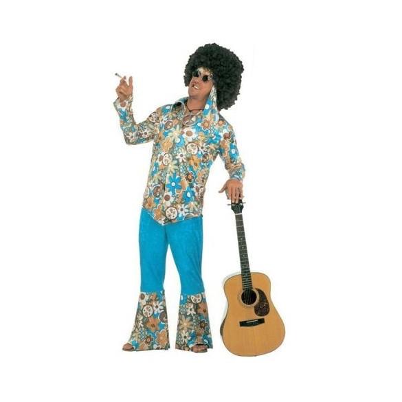 Déguisement Homme hippie velours