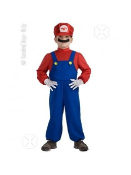 Déguisement Mario Games enfant
