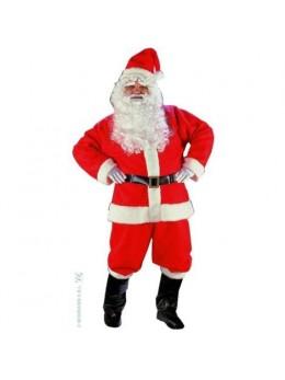 Déguisement Père Noel coton complet