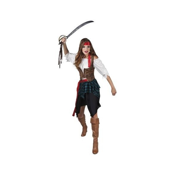 Déguisement pirate fille